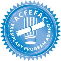 The ACFEF Exemplary Seal